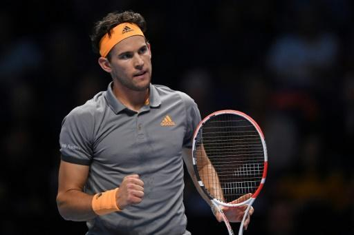 Austria's Dominic Thiem is aiming to win his sixth title of the year at the ATP Finals