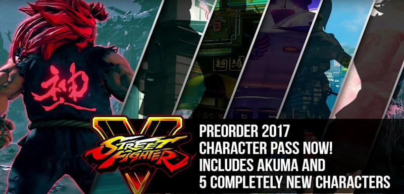 Street Fighter 5 Getting Five Completely New Characters In 2017
