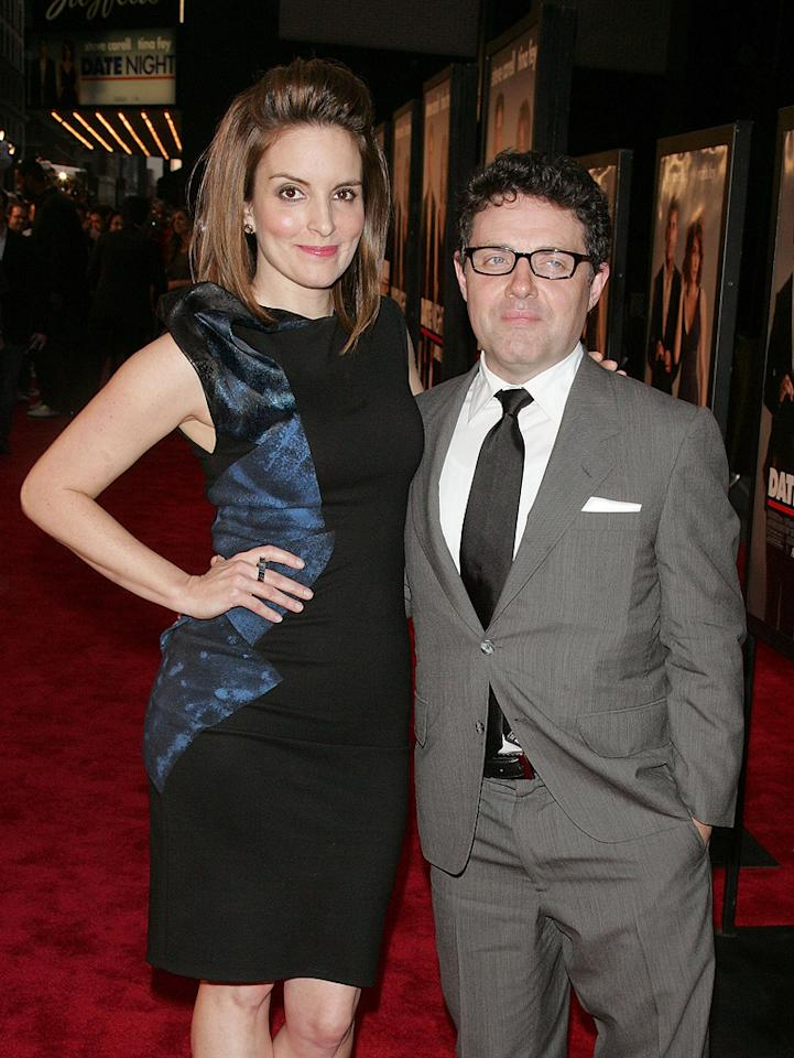 """<a href=""""http://movies.yahoo.com/movie/contributor/1807539611"""">Tina Fey</a> and <a href=""""http://movies.yahoo.com/movie/contributor/1808788768"""">Jeff Richmond</a> at the New York City premiere of <a href=""""http://movies.yahoo.com/movie/1810080154/info"""">Date Night</a> - 04/06/2010"""
