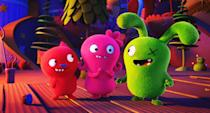 """<p><strong>Hulu's Description:</strong> """"An animated adventure in which the free-spirited UglyDolls confront what it means to be different, struggle with a desire to be loved, and ultimately discover who you truly are is what matters most.""""</p> <p><span>Stream <strong>UglyDolls</strong> on Hulu!</span></p>"""