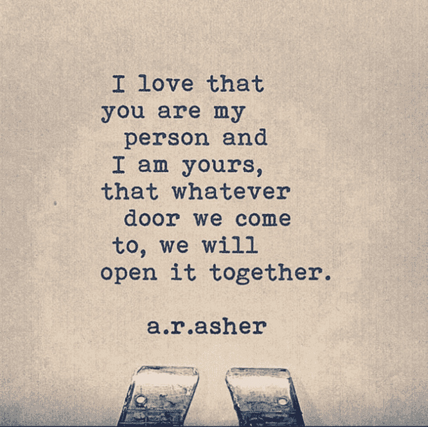 <p>Together is better.</p>