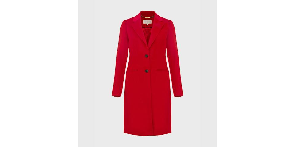 best winter coats: Hobbs Tilda Wool Collar Coat