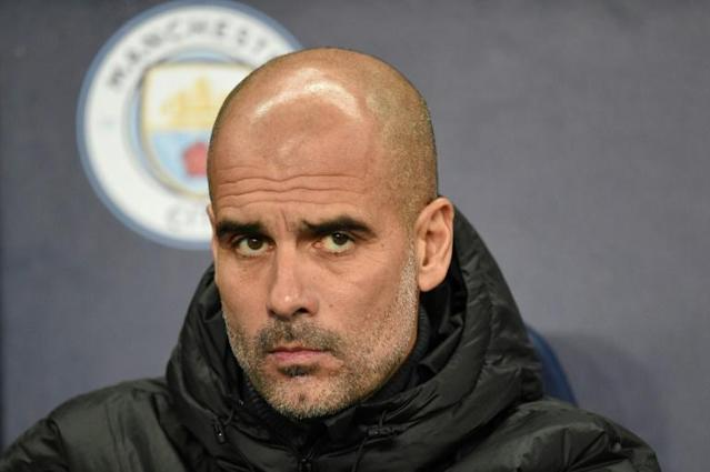 Eyes on the future: Manchester City boss Pep Guardiola (AFP Photo/Oli SCARFF )
