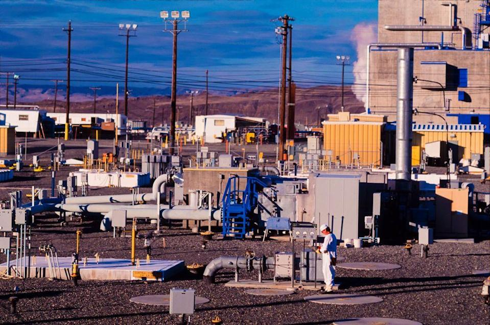 "<p>Cleaning up the physical and environmental mess left by the Manhattan Project has proven tougher than its creation. The <a href=""https://www.popularmechanics.com/science/energy/a30184557/hanford-nuclear-waste-site-cleanup/"" rel=""nofollow noopener"" target=""_blank"" data-ylk=""slk:Hanford Nuclear Waste Site"" class=""link rapid-noclick-resp"">Hanford Nuclear Waste Site</a> in Washington state was the home to nine nuclear reactors and five plutonium processing complexes needed to create the country's nuclear arsenal. The current cleanup project requires turning <a href=""https://www.nrc.gov/waste/incidental-waste/wir-process/wir-locations/wir-hanford.html"" rel=""nofollow noopener"" target=""_blank"" data-ylk=""slk:53 million gallons"" class=""link rapid-noclick-resp"">53 million gallons</a> of radioactive sludge-like waste in 177 underground tanks into vitrified glass for long-term safe storage, an engineering marvel at all levels.</p>"