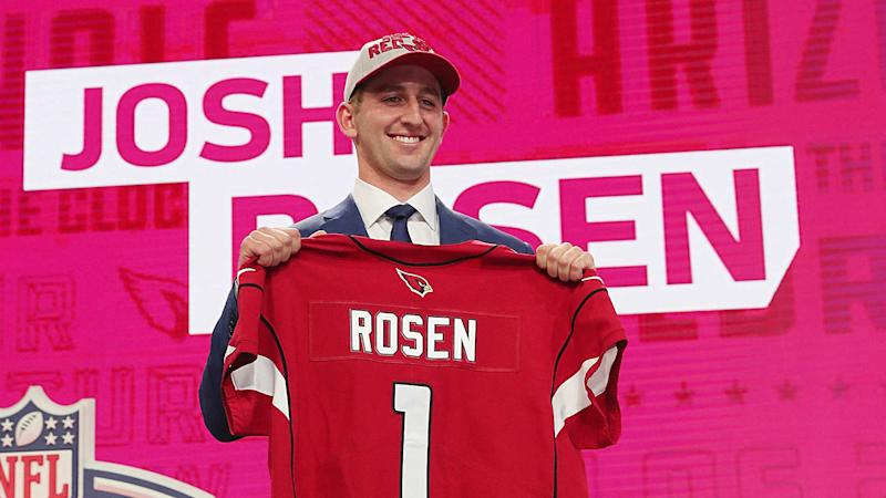 Josh Rosen's socially distant opener with Bucs sums up his career trajectory