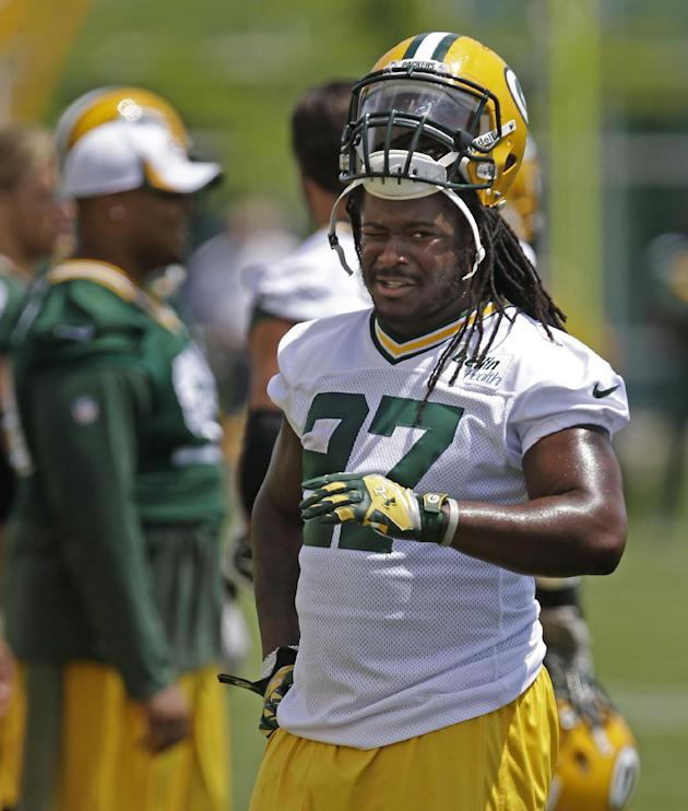 Eddie Lacy is coming off an impressive rookie season in Green Bay. (AP)
