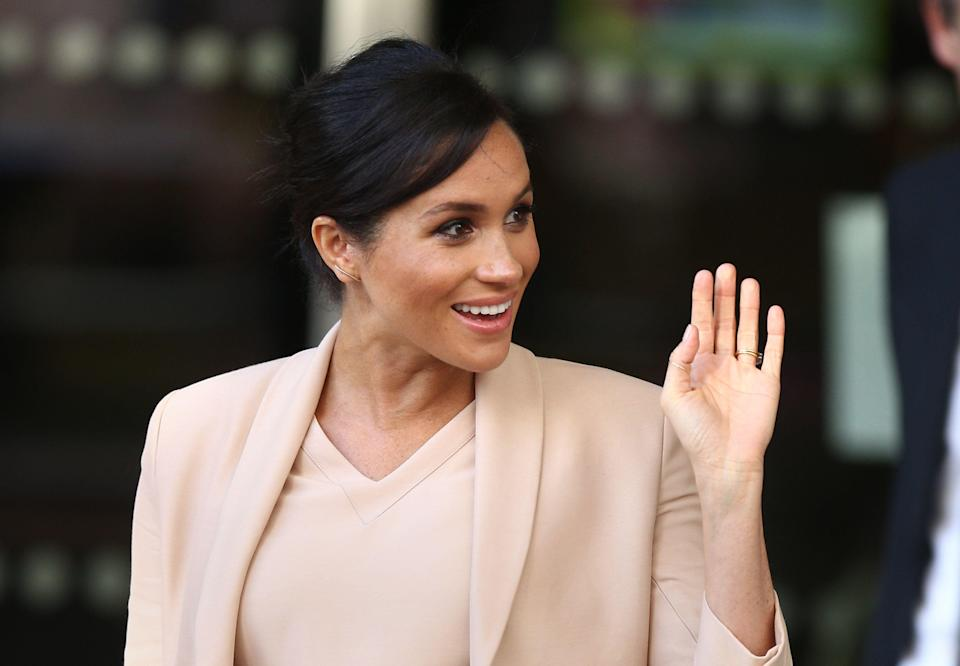 Meghan reportedly had a hospital birth [Photo: PA]
