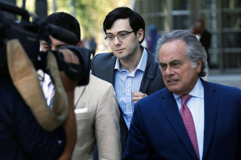 Martin Shkreli Says He Will Not Take the Stand in His Defense