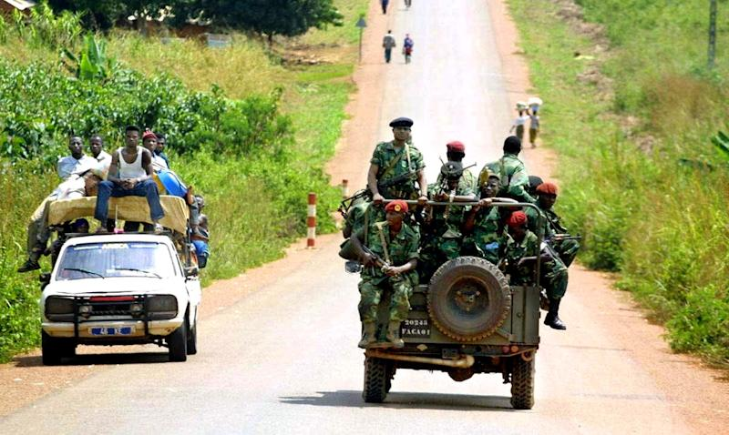 The Congolese Liberation Movement was later transformed into a political organisation (AFP Photo/DESIREY MINKOH)