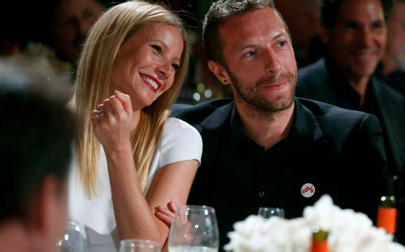 Gwyneth Paltrow and Chris Martin used the term 'consciously uncoupling' - Credit: Colin Young-Wolff/AP