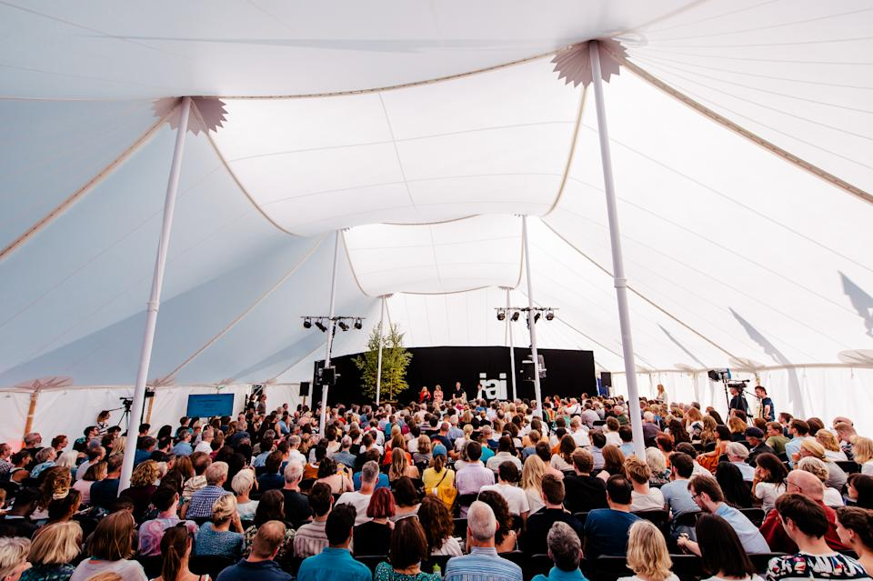 A previous How The Lights Get In festival, this year the talks by the likes of political satirist Armando Iannucci and Yasmin Alibhai-Brown will all be held virtually. (Matt Eachus)