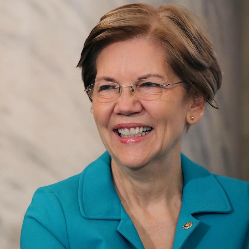 President Donald Trump tweets meme calling Democratic Senator Elizabeth Warren '1/2020th'