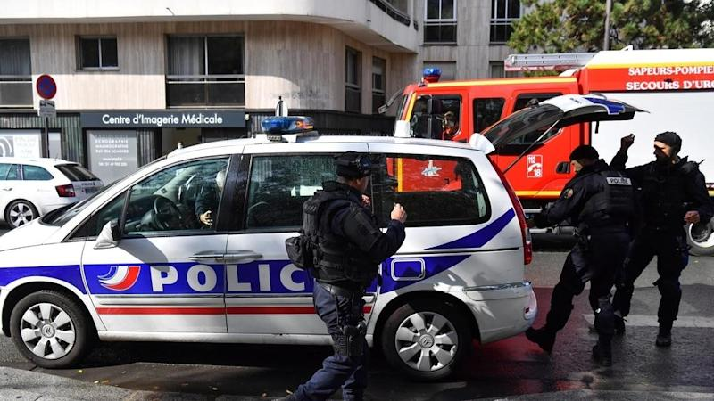 Second suspect arrested after knife attack near former Charlie Hebdo offices