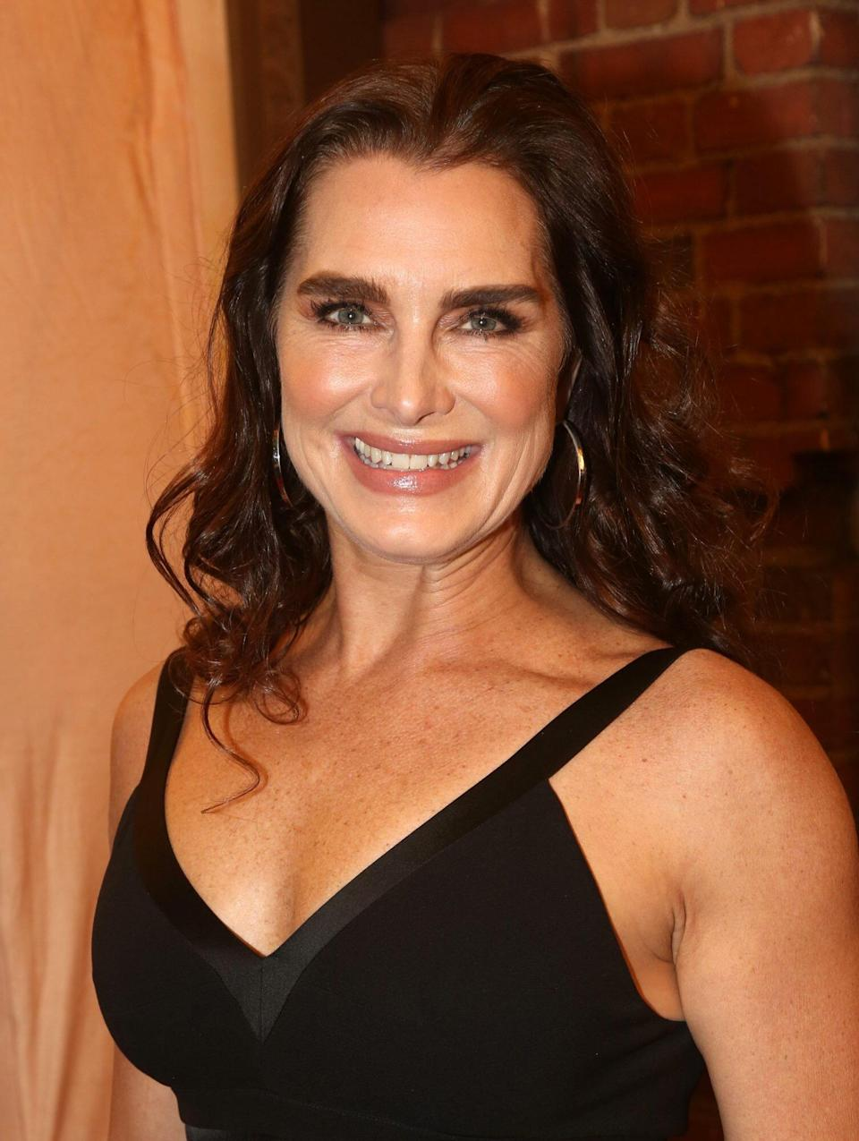 """Brooke Shields Just Addressed the """"Taboo Subject"""" of Menopause With the Skincare Find That's Changed Her Skin"""