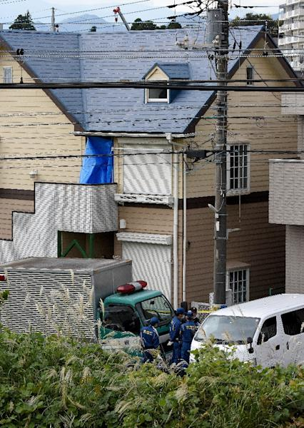 Police discovered a grisly house of horrors in Shiraishi's apartment in a Tokyo suburb last month (AFP Photo/Toru YAMANAKA)