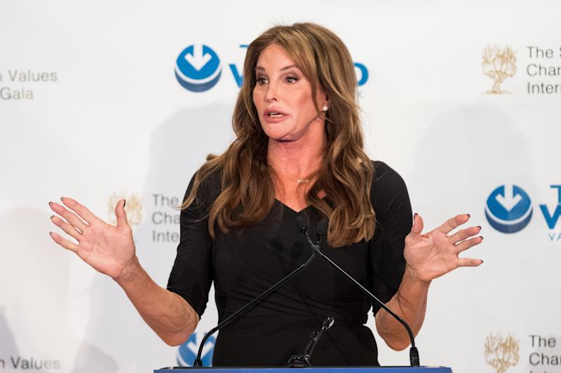 """As far as trans issues, this administration has been the worst ever,"" Caitlyn Jenner said March 9.  (SOPA Images via Getty Images)"