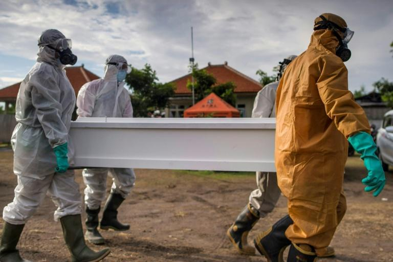 The Delta virus is wreaking havoc in Indonesia, which is reporting hundreds of deaths and tens of thousands of cases daily