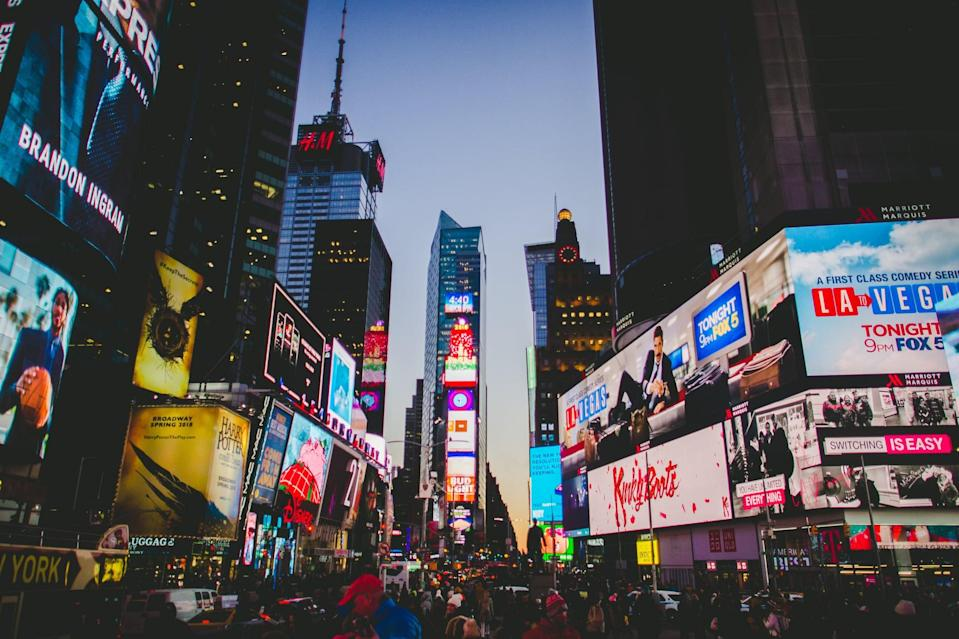 """<p>It's called the """"city that never sleeps"""" for a reason. New York City should be on every traveler's bucket list. Manhattan's burgeoning NoMad area is a good place for people in their 20s because it's located in the heart of Manhattan and is the center of many of New York's unique shopping areas. Stay at <a href=""""http://www.innsidenyc.com"""" class=""""link rapid-noclick-resp"""" rel=""""nofollow noopener"""" target=""""_blank"""" data-ylk=""""slk:Innside by Meliá"""">Innside by Meliá</a>, which focuses on sustainability, a holistic lifestyle, music, and local culture.</p>"""