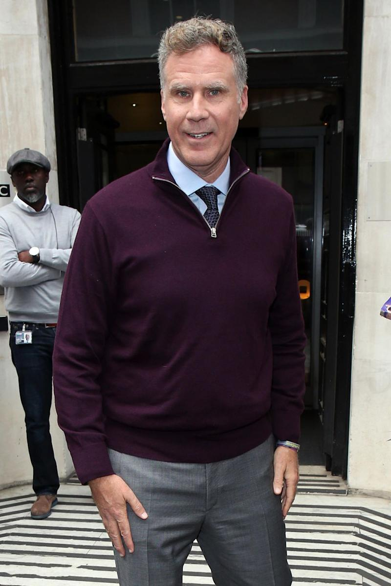 The actor, pictured here in London last year, came out of the crash