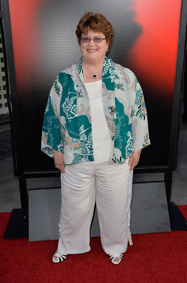 HOLLYWOOD, CA - JUNE 11: Writer Charlaine Harris attends the premiere of HBO's 'True Blood' Season 6 at ArcLight Cinemas Cinerama Dome on June 11, 2013 in Hollywood, California. (Photo by Frazer Harrison/Getty Images)