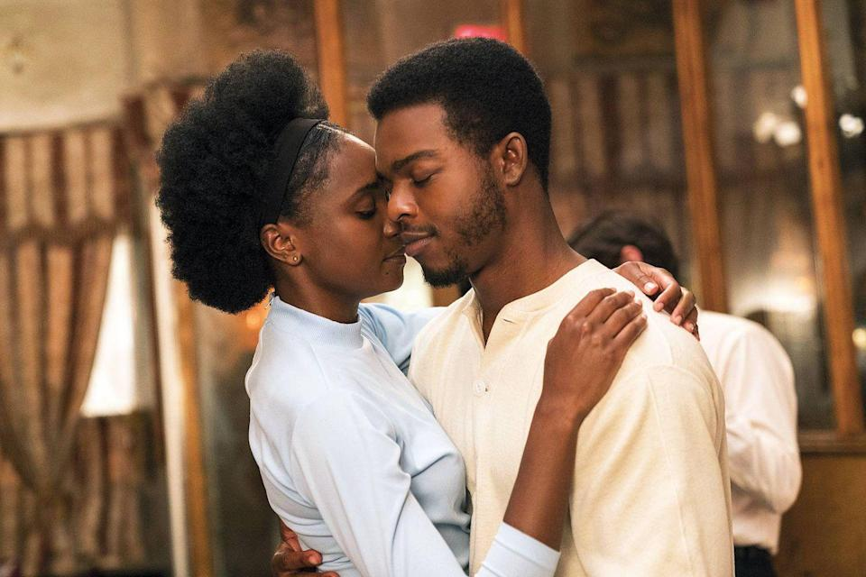 """<p>In 1970's Harlem, Tish (KiKi Layne), Fonny (Stephan James) fall in love. Thanks to Barry Jenkins' direction and the movie's gorgeous cinematography, their love story is rendered with undeniable reverence. But false accusations send what should be the couple's happy ending careering. What is the place for romance in a world of injustice? Based on <a href=""""https://www.amazon.com/Beale-Street-Could-Vintage-International-ebook/dp/B00EGMUZZI/?tag=syn-yahoo-20&ascsubtag=%5Bartid%7C10072.g.33383086%5Bsrc%7Cyahoo-us"""" rel=""""nofollow noopener"""" target=""""_blank"""" data-ylk=""""slk:James Baldwin's 1974 novel"""" class=""""link rapid-noclick-resp"""">James Baldwin's 1974 novel</a>, the story is as relevant as the year it came out. </p><p><a class=""""link rapid-noclick-resp"""" href=""""https://go.redirectingat.com?id=74968X1596630&url=https%3A%2F%2Fwww.hulu.com%2Fmovie%2Fif-beale-street-could-talk-a862614d-c49e-4208-b934-1476963896fe&sref=https%3A%2F%2Fwww.oprahdaily.com%2Fentertainment%2Fg33383086%2Fbest-romantic-movies%2F"""" rel=""""nofollow noopener"""" target=""""_blank"""" data-ylk=""""slk:Watch Now"""">Watch Now</a></p>"""