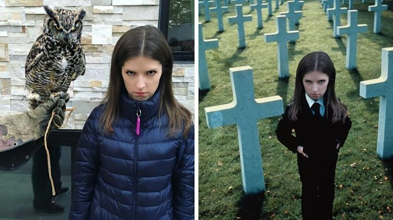 Anna Kendrick's Creepy Instagram Pic Becomes Hilariously Spooky Meme