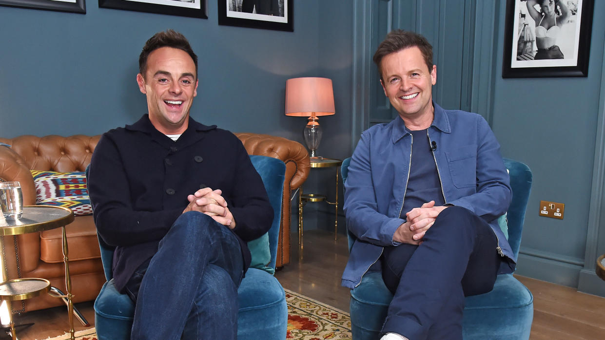 Ant McPartlin and Declan Donnelly have been together on screen for 30 years. (David M. Benett/Getty Images)