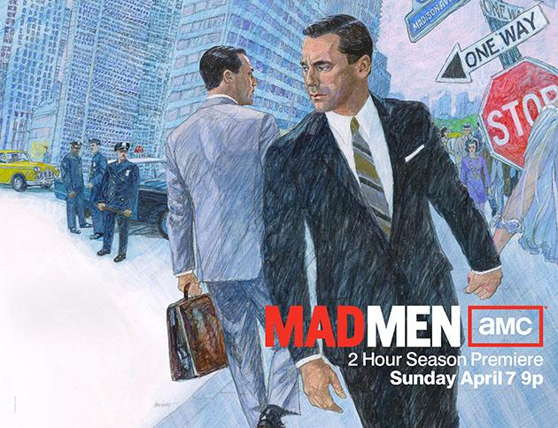 Mad Men - Season 6 - Two-Sheet