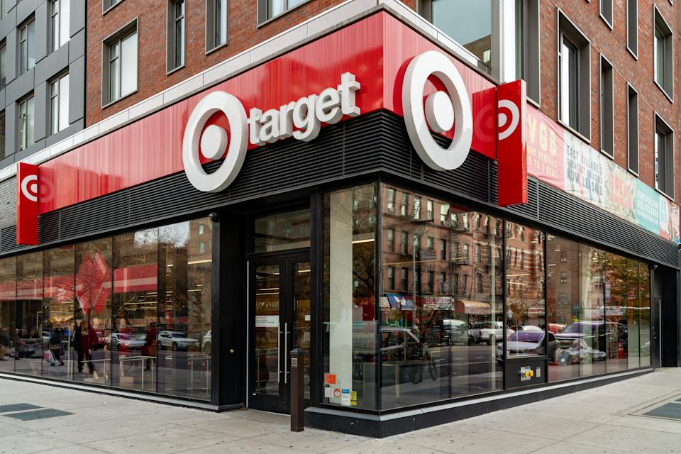 NEW YORK, NY - NOVEMBER 20:  A Target retail store is seen on 14th street in Manhattan on November 20, 2019 in New York City. Target has announced its 3rd quarter results, a 4.5% increase in sales and a 15% growth in revenues. Targets strong earnings has raised their stock value 67% in 2019. (Photo by David Dee Delgado/Getty Images)