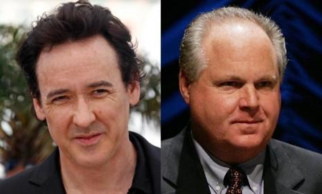 John Cusack will reportedly play Rush Limbaugh in an upcoming film. Please ignore the fact that they look nothing alike.