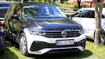 """<p>The refreshed Tiguan debuted after we got these photos, so get <a href=""""https://www.motor1.com/news/431615/2022-volkswagen-tiguan-debut-details/"""" rel=""""nofollow noopener"""" target=""""_blank"""" data-ylk=""""slk:all of the details about the updated crossover, here"""" class=""""link rapid-noclick-resp"""">all of the details about the updated crossover, here</a>.</p> <h3><a href=""""https://www.motor1.com/news/431478/2021-vw-tiguan-no-camouflage/"""" rel=""""nofollow noopener"""" target=""""_blank"""" data-ylk=""""slk:2021 VW Tiguan Facelift Spied Inside And Out With Zero Camouflage"""" class=""""link rapid-noclick-resp"""">2021 VW Tiguan Facelift Spied Inside And Out With Zero Camouflage</a></h3> <br><a href=""""https://www.motor1.com/news/431619/volkswagen-tiguan-r-possible-for-us/"""" rel=""""nofollow noopener"""" target=""""_blank"""" data-ylk=""""slk:Volkswagen Tiguan R Under Consideration For US, Hybrid Not Happening"""" class=""""link rapid-noclick-resp"""">Volkswagen Tiguan R Under Consideration For US, Hybrid Not Happening</a><br><a href=""""https://www.motor1.com/news/431615/2022-volkswagen-tiguan-debut-details/"""" rel=""""nofollow noopener"""" target=""""_blank"""" data-ylk=""""slk:2022 Volkswagen Tiguan Debuts With Familial Facelift, More Safety Tech"""" class=""""link rapid-noclick-resp"""">2022 Volkswagen Tiguan Debuts With Familial Facelift, More Safety Tech</a><br>"""