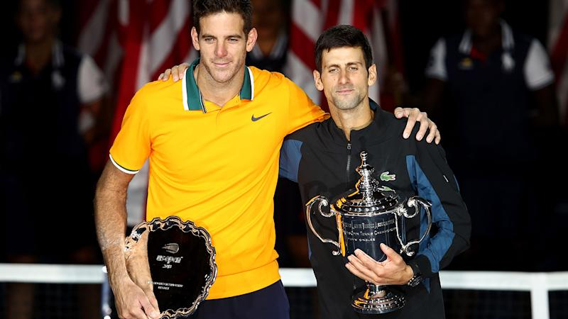 Djokovic Beats del Potro for Third US Open Title, 14th Major