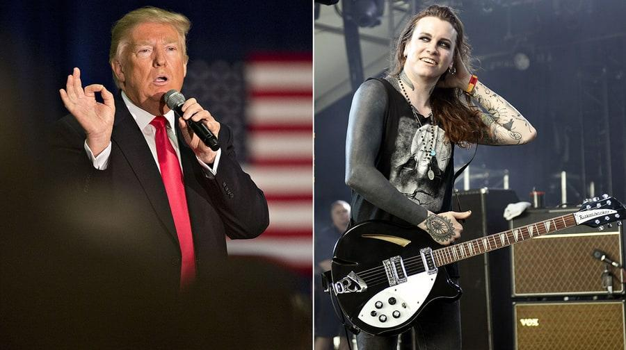 Against Me! frontwoman Laura Jane Grace sounds off on the Trump administration's action to rescind transgender students' rights in school.