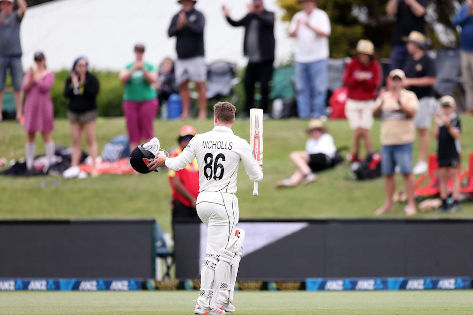 <p>Fans packed the banks for New Zealand's win over Pakistan in Christchurch</p> (AFP via Getty Images)