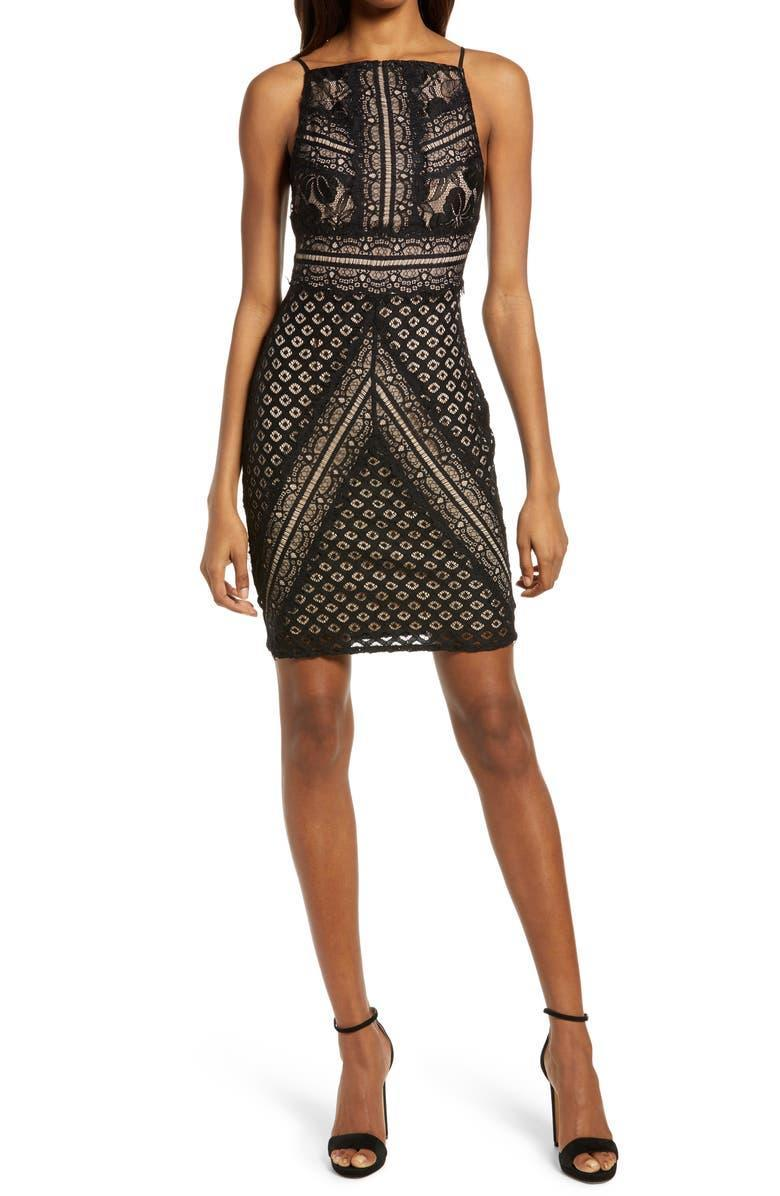 """<h2><a href=""""https://www.nordstrom.com/brands/lulus--13610"""" rel=""""nofollow noopener"""" target=""""_blank"""" data-ylk=""""slk:Up to 60% off Lulus"""" class=""""link rapid-noclick-resp"""">Up to 60% off Lulus</a></h2><br><strong><em>Next Best Deal:</em></strong><em> Since the <a href=""""https://www.nordstrom.com/s/lulus-wink-wink-lace-body-con-dress/5918806"""" rel=""""nofollow noopener"""" target=""""_blank"""" data-ylk=""""slk:Lulus Wink Wink Lace Body-Con Dress"""" class=""""link rapid-noclick-resp"""">Lulus Wink Wink Lace Body-Con Dress</a></em> <em>is currently almost sold out, try this still-in-stock <a href=""""https://www.nordstrom.com/s/lulus-much-obliged-wrap-maxi-dress/6407641"""" rel=""""nofollow noopener"""" target=""""_blank"""" data-ylk=""""slk:Much Obliged Wrap Maxi Dress"""" class=""""link rapid-noclick-resp"""">Much Obliged Wrap Maxi Dress</a> style instead!</em><br><br><br><strong>Lulus</strong> Wink Wink Lace Body-Con Dress, $, available at <a href=""""https://go.skimresources.com/?id=30283X879131&url=https%3A%2F%2Fwww.nordstrom.com%2Fs%2Flulus-wink-wink-lace-body-con-dress%2F5918806"""" rel=""""nofollow noopener"""" target=""""_blank"""" data-ylk=""""slk:Nordstrom"""" class=""""link rapid-noclick-resp"""">Nordstrom</a>"""