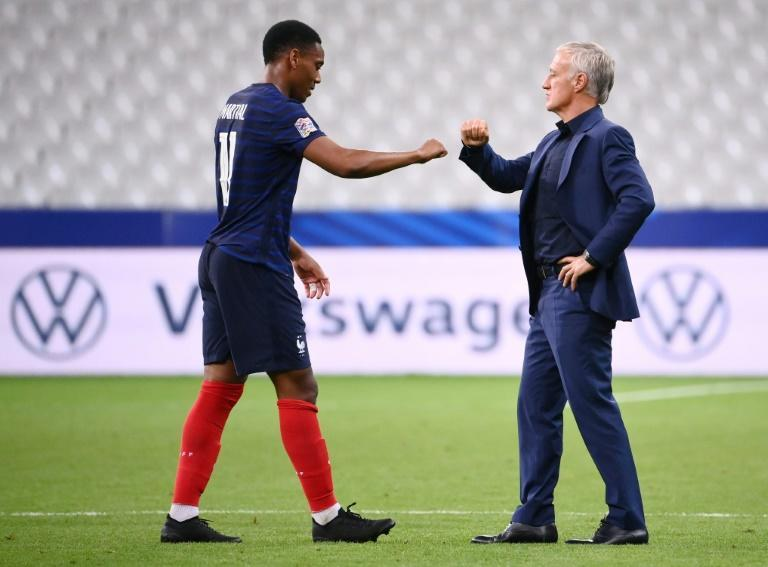 Martial won his 23rd cap for France against Croatia in the UEFA Nations League last month