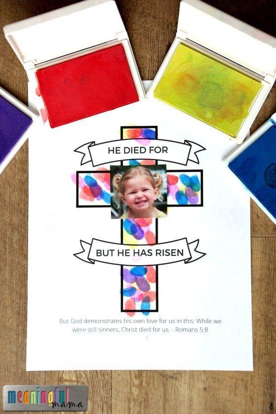 """<p>This craft will make for a sweet idea for any Sunday school activities.</p><p><strong>Get the tutorial at <a href=""""https://meaningfulmama.com/easter-cross-craft-for-sunday-school-classrooms.html"""" rel=""""nofollow noopener"""" target=""""_blank"""" data-ylk=""""slk:Meaningful Mama"""" class=""""link rapid-noclick-resp"""">Meaningful Mama</a>.</strong></p><p><strong><a class=""""link rapid-noclick-resp"""" href=""""https://www.amazon.com/Lsushine-Stamps-Partner-Colors-Rainbow/dp/B01DZRP10S/?tag=syn-yahoo-20&ascsubtag=%5Bartid%7C10050.g.30928377%5Bsrc%7Cyahoo-us"""" rel=""""nofollow noopener"""" target=""""_blank"""" data-ylk=""""slk:SHOP INK PADS"""">SHOP INK PADS</a><br></strong></p>"""