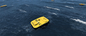 Oscilla Power launches the Triton-C wave energy system to generate clean, renewable power from the waves of the Pacific Ocean.