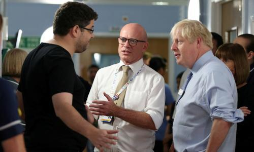 'The NHS has been destroyed': Boris Johnson confronted by father of sick child