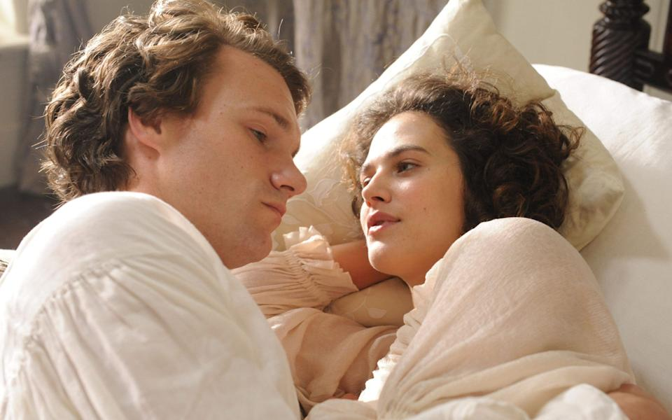 Hugh Skinner and Jessica Brown Findlay steam up the screen in Harlots - Liam Daniel