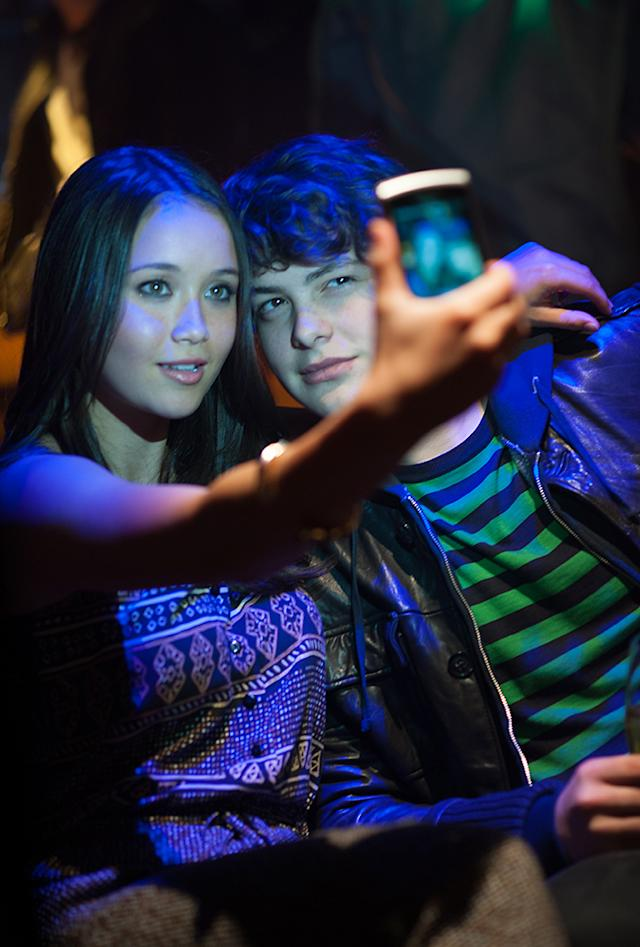 Katie Chang and Israel Broussard in 'The Bling Ring'