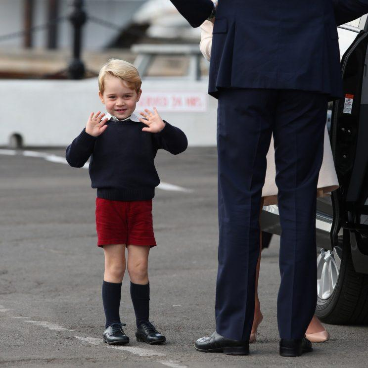 Long live the prince! (And his shorts!) [Photo: Getty/Pool]