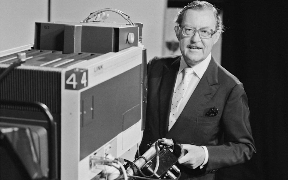 At the height of his popularity Alan Whicker's programmes commanded audiences of 15 million people - Getty