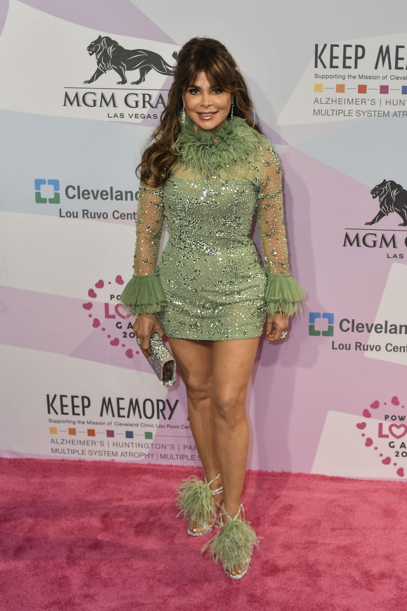 Paula Abdul pictured as Keep Memory Alive Honors Neil Diamond at 24th Annual Power of Love Gala at MGM Grand Garden Arena Lobby in Las Vegas, Nevada on March 07, 2020. Credit: Damairs Carter/MediaPunch /IPX