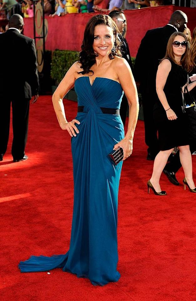 BEST: Julia Louis-Dreyfus at the 61st Primetime Emmy Awards held at the Nokia Theatre on September 20, 2009, in Los Angeles.