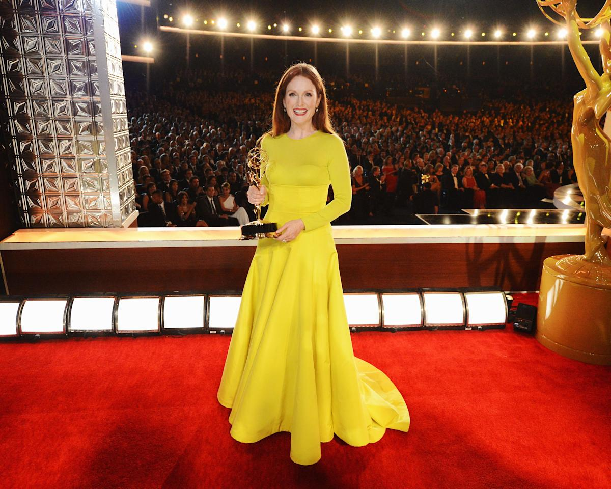 <p>Whether they've appeared on soap opera sets or in a talk show hot seat, many celebrities have dipped their toes into daytime television. These 15 stars scored a golden statue for their excellence in daytime entertainment–and some names on the list might really surprise you.</p>