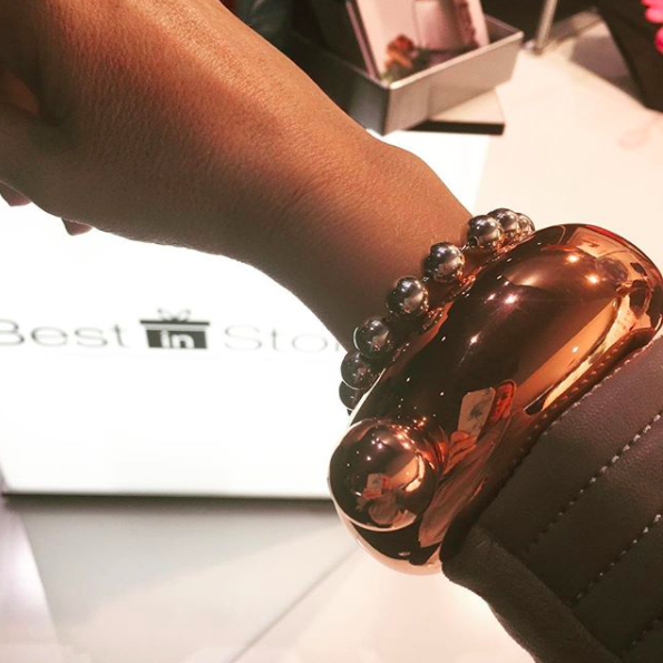 The 'Booze Bangle' is an invention we never even knew we needed [Photo: Instagram]