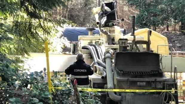 Two people have died at a construction site on Gabriola Island. (Kendall Hanson/CHEK News - image credit)