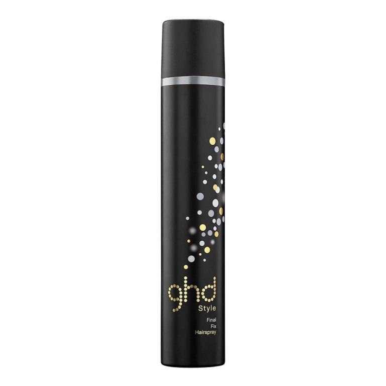 "<p>A favourite backstage at Fashion Week for good reason, ghd's Final Fix Hairspray ensures everything stays exactly how you want it without stiffness. And if your morning regime is a constant battle to keep your baby hairs under wraps, spritz a little onto a toothbrush (just trust us on this one) and comb them into place. </p><p><a href=""https://www.ghdhair.com/fix/fix-hairspray-400ml"" rel=""nofollow noopener"" target=""_blank"" data-ylk=""slk:ghd"" class=""link rapid-noclick-resp"">ghd</a> - £9.95</p>"