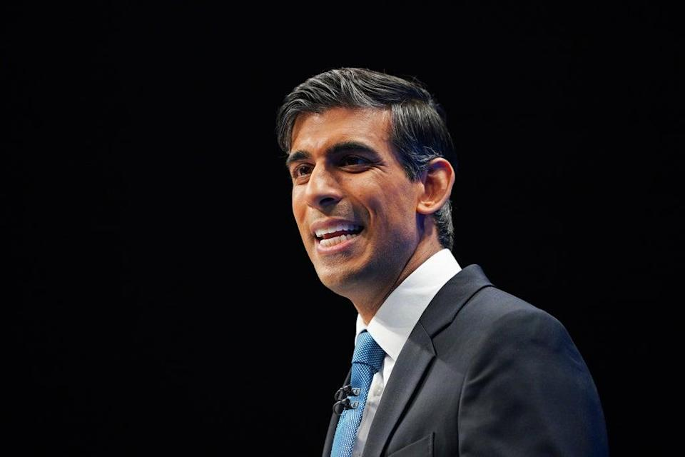 Chancellor of the Exchequer Rishi Sunak (Peter Byrne/PA) (PA Wire)